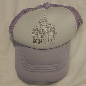 Castle Princess Trucker Hat Baby Girls Adjustable